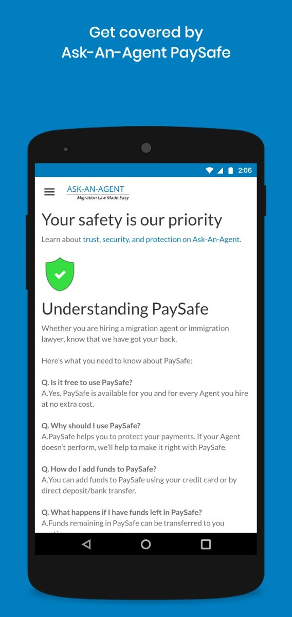 Get covered by PaySafe