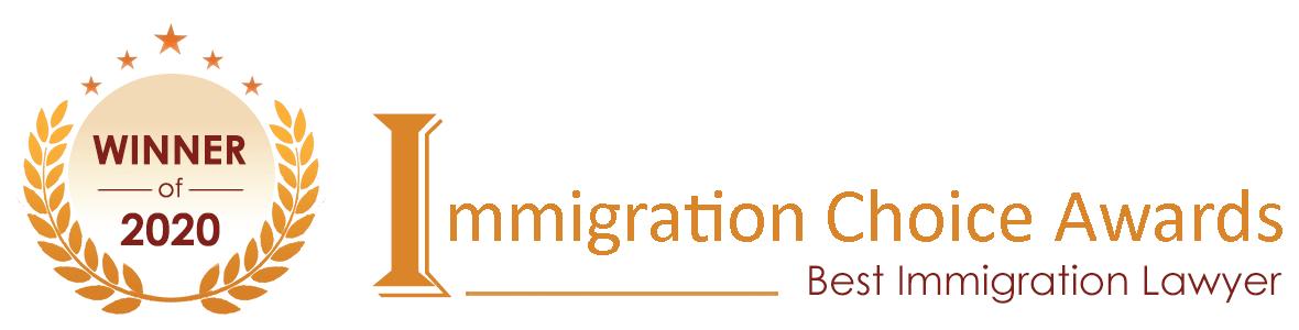 Immigration Choice Awards Winner 2021