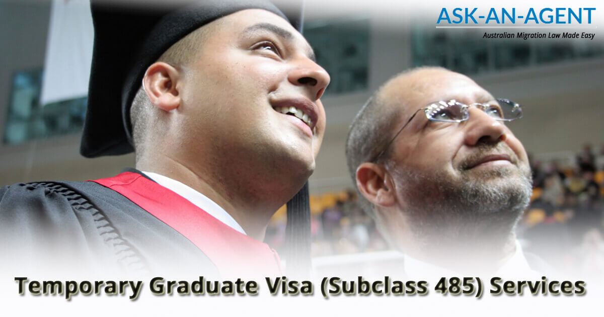 temporary graduate visa Australia sc 485 - migration agent services