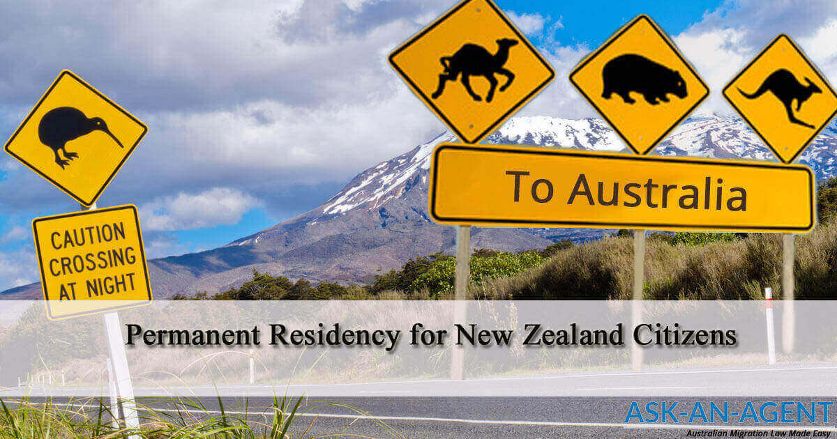 Permanent Residency in Australia for New Zealand citizens