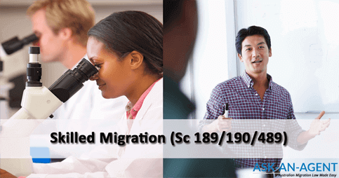 189 visa and 190 visa - migration agent services
