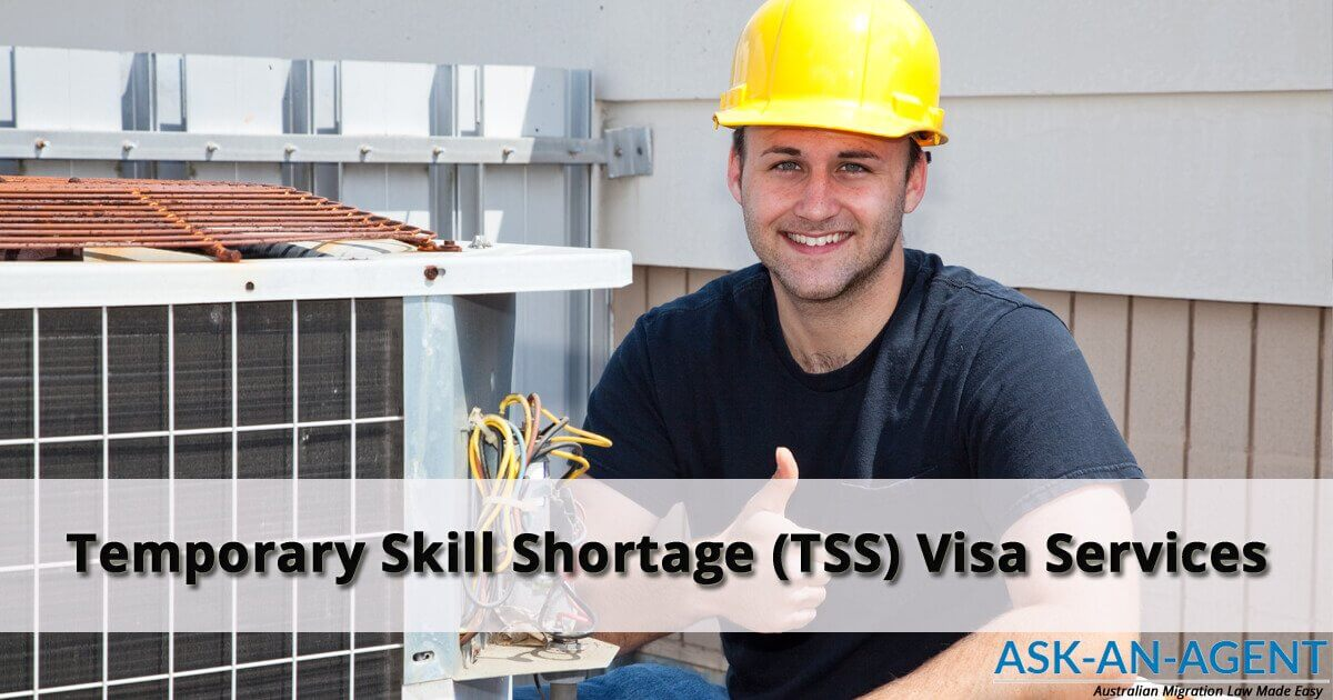482 visa and TSS visa - migration agent services
