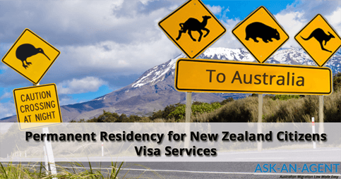 Permanent Residency for New Zealand citizens in Australia