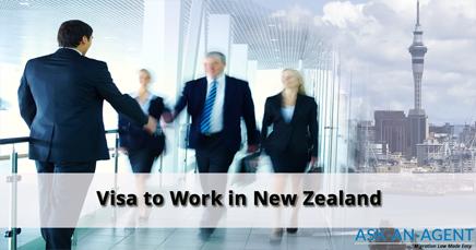 Visa to work in New Zealand